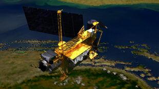 Szczątki satelity spadły do oceanu