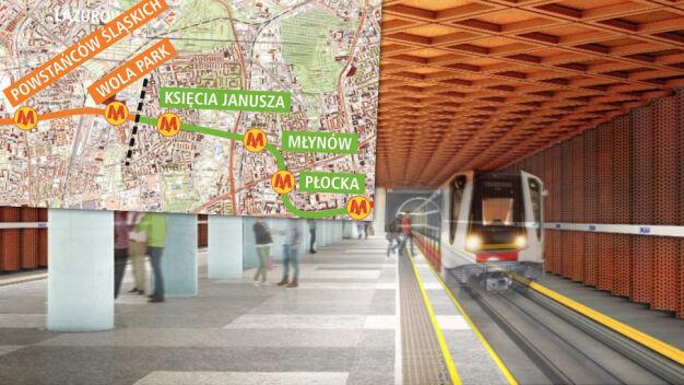 Przetarg na najkrótszy odcinek II linii metra. Jest jedna oferta