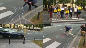 """Aktywiści o przejściach dla pieszych. """"W Polsce są strefą śmierci"""""""