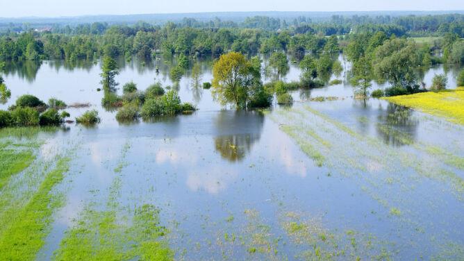 Możliwe są gwałtowne wzrosty stanu wody. Żółte alerty w wielu regionach