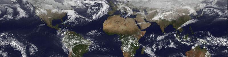 Zdjęcie z satelity środowiskowego GOES