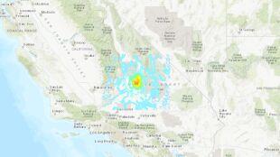 Wstrząsy wtórne, które nastąpiły po prawie roku. Ziemia zadrżała w Kalifornii