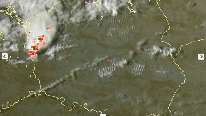 Nad Polską pojawiły się burze. Grzmiało na północnym zachodzie