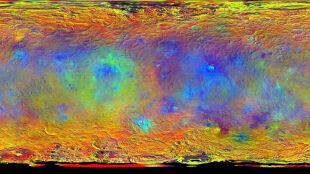 Frapujące zdjęcia Ceres. Naukowcy na tropie białych plam
