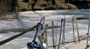 20.04|Mazurskie jeziora skute lodem. Co z majówką? (TVN24)