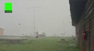 Wiatr niszczył łodzie (Kontakt 24/Arkadiusz)