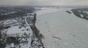 Jak wygląda sytuacja w Płocku. Nagranie z drona